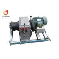 Wholesale 3T 5T Electric Gas Engine Powered Winch For Cable Pulling In Line Construction from china suppliers