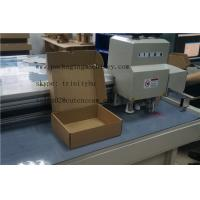 Wholesale Double Walled Carton Box flatbed cutter table mock up machine from china suppliers