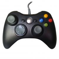 Wholesale Solid Black XBOX One Gamepad , Vibration Wired Game Controller from china suppliers