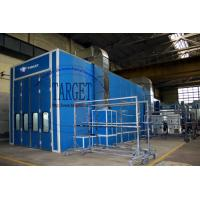 Wholesale 15m truck spray painting booth / spray booth oven for trucks and bus from china suppliers