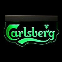 Wholesale Novelty design 8mm acrylic green led edge lit acrylic sign from china suppliers