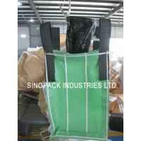 Wholesale Powder packing 4-Panel baffle bag 1000KGS OF 100% virgin green PP fabric from china suppliers