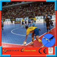 Wholesale Durable Blue Modular Sports Flooring Carpet Tile Non-Toxic , 250x250cm from china suppliers