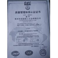 ChangZhou Sunrex Machine Co., Ltd Certifications