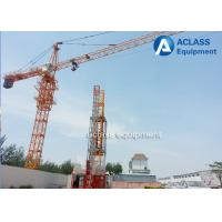 Wholesale 5 ton / 6 ton Topkit Hydraulic Tower Crane with Lifting Hook / Air Conditioner from china suppliers