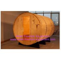 Wholesale Canopy Barrel Sauna Room Canadian Pine Wood Electric Sauna Heater from china suppliers