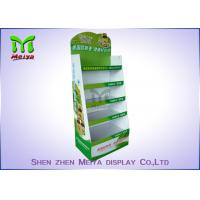 Wholesale Customized Cardboard Book Display Stand , Promotion Cardboard Display Shelf For Cd Marketing from china suppliers