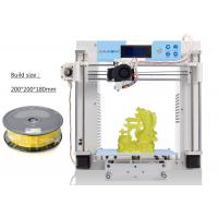 Wholesale FDM Metal Frame Household DIY High Resolution 3D Printer Reprap Prusa I3 from china suppliers