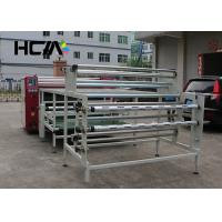 Wholesale Oil Drum Rotary Heat Press Machine , Textile Heat Transfer Printing Equipment from china suppliers