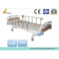 Wholesale Flalt ABS Head Hospital Electric Bed With Aluminum Alloy Guardrail 2150*950*550mm (ALS-E201) from china suppliers