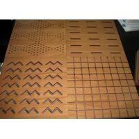 Wholesale Light Weight MDF Acoustic Panel For Auditorium , L1200 * W600mm BT new pattern from china suppliers