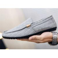 Quality Europe Style Loafer Slip On Shoes Fashion Rivets Wedding Party ROSH Certificatio for sale