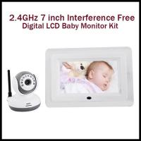Wholesale High Resolution Baby Monitor Camera , Baby Video Camera With TV Out Function from china suppliers