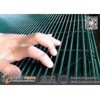 Wholesale Anti climb and cut green powder coated  Hight Security 358 Welded Mesh Fencing from china suppliers