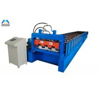 Buy cheap 1219mm material width floor deck roll forming machine Mexico style from wholesalers