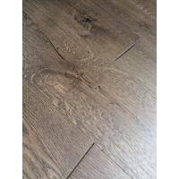 Wholesale rustic oak engineered wood flooring, character oak with crack, popular oak color stain from china suppliers