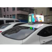 Aluminum Automatic Outdoor Custom Taxi Led Display Light Weight 5 Mm Pixel Pitch