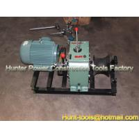 Wholesale 5T Cable Laying Equipment Electric Cable Pulling Winch Machine from china suppliers
