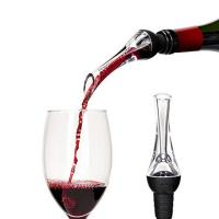 Wholesale Custom Laser Engraving Logo Detachable Easy Cleaning Portable Instant Wine Aerator Pourer from china suppliers