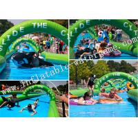 Wholesale School / Water Park Inflatable Slide Summer Toy 12 Months Warranty from china suppliers