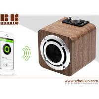 Wholesale fm radio tf card aux audio 8w hifi super bass stereo sound system wood ibastek multimedia  speaker from china suppliers