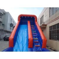 Wholesale Exciting inflatable Interactive Games water slide with pool For Adults / Kids from china suppliers
