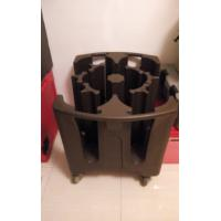 Wholesale Heavy Duty Brown Plastic Adjustable Plate Cart | Dish Caddies from china suppliers