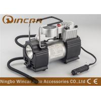 Wholesale Metal Hand Held Air Compressor Tyre Inflator Air Pump with Light / Digital Gauge from china suppliers