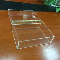 Wholesale multi function clear fashion custom wholesale acrylic cube storage boxes from china suppliers