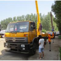 Wholesale Dongfeng 4*2 190hp RHD 18m/20m/22m Hydraulic bucket truck for Kenya, China best price 18-22m overhead working truck from china suppliers