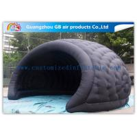 Wholesale Flame Retardant Black Nylon Inflatable Air Tent Inflatable Helmet Tunnel for Event / Travel from china suppliers
