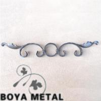 Quality Decorative Wrought Iron Scroll Casting Designs for sale