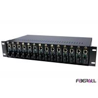 Wholesale Universal Rack Mount Media Converter Chassis For Stand Alone Media Converter from china suppliers