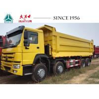 China Sinotruk 30CBM HOWO 8x4 Dump Truck Low Oil Consumption Perfect Oil Performance on sale