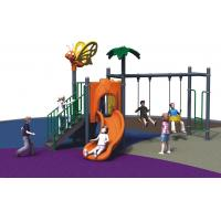 Quality Kindergarten Freestanding Playground Equipment Child Outdoor With Swing And Slide for sale
