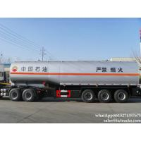 Wholesale Tank trailer-45000L-semi-trailer-tanker  45000l carbon steel fuel tank  WhatsApp:8615271357675 from china suppliers