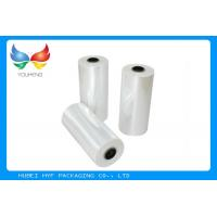 Buy cheap 78% Shrinkage 40MIC Clear PET Plastic Shrink Film For Shrink Sleeve Labels Material from wholesalers