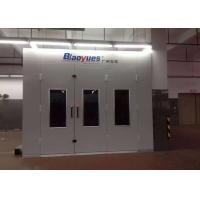 Wholesale Custom Inner Ramp Spray Painting Room , Auto Body Spray Booth Equipment from china suppliers