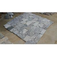 Wholesale Natural Stone Fieldstone Stone Veneer Grey Slate Castle Culture Stone Veneer Dia 15-45cm from china suppliers