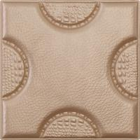 Buy cheap Easy Installation Self Adhesive Leather Tiles For Walls With 3D Surfaces , D-018 from wholesalers
