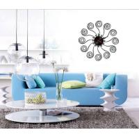 Wholesale Home Decorative Acrylic Designer Wall Sticker Clocks 10D044 from china suppliers