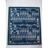 Wholesale Lead free HASL Blue Double sided PCB circuit boards 2.0MM Thickness , 2 oz ( 70 um ) from china suppliers
