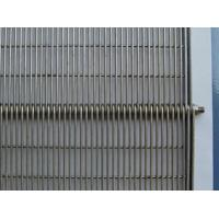 Wholesale Straight Running Stainless Steel 304/316 Wire Ring Belt, 50mm rod pitch, 2.5mm wire from china suppliers