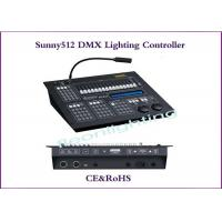Quality Sunny 512 DMX Lighting Controller for DJ Sound & Lighting Control System for sale