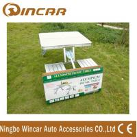 Wholesale Aluminum Outdoor Camping Tables / Four Person Folding Dining Table from china suppliers