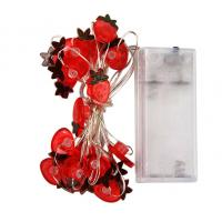 Wholesale Battery powered strawberry led copper wire fairy string from china suppliers