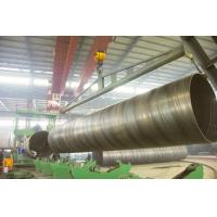Wholesale black round BG SSAW Steel Pipe Large Diameter with X56 X70 , St52 St42 St45 Grade from china suppliers