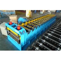 Wholesale 60KW Silo Roll Forming Machine With Protect Cover / 2 Punching Stations from china suppliers