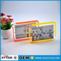 Wholesale Custom design 4*6cm Cute acrylic photo frame / cheap picture frames in bulk from china suppliers