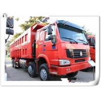 Wholesale HOWO 12 wheels dump truck 8x4 30 tons loading tipper lorry / dumper truck with warranty 15000km from china suppliers